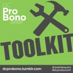 Pro Bono Week Toolkit graphic 2014