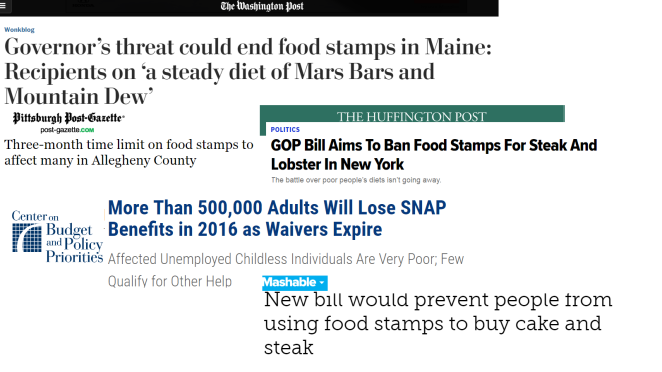 "A selection of ""anti-impoverished"" headlines from this year"