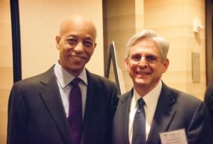 Tom with the Honorable Merrick Garland
