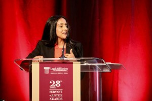 """Legal Aid is tackling the toughest issues and helping the most vulnerable D.C. residents."" - Vanita Gupta, 2017 Servant of Justice Honoree"