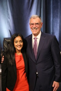 2017 Servant of Justice Honorees Vanita Gupta and Donald B. Verrilli, Jr.