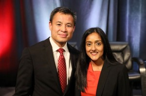 Legal Aid Legal Director Chinh Le and Servant of Justice Honoree Vanita Gupta