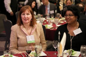Carol Klein with Kirra Jarratt, Executive Director of the D.C. Bar Foundation