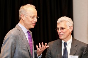 The Honorable Neal E. Kravitz of D.C. Superior Court with David Reiser of Zuckerman Spaeder at the President's Reception